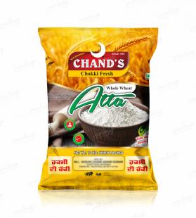 chand's atta design,designs,packing,design,pouch design,packaging design