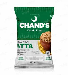 chand's atta design,atta design,atta packing design,atta pouch design,packaging design,designs,mockup